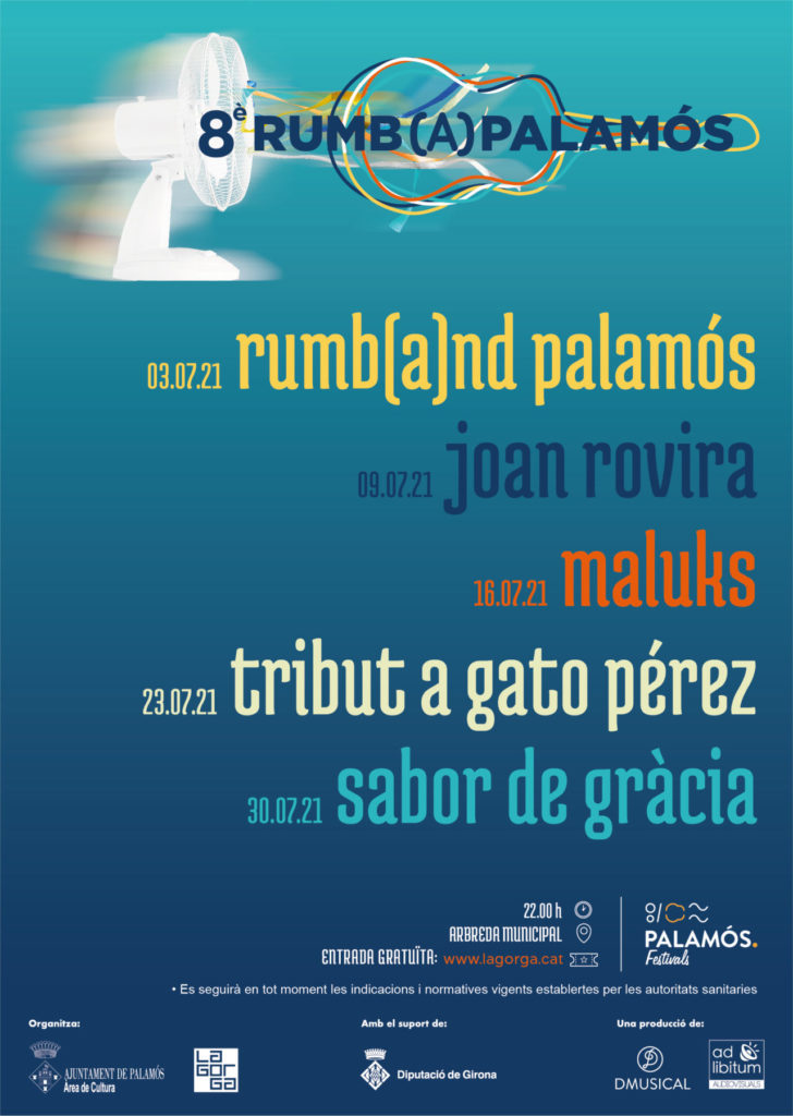 Cartel festival Rumba Palamós 2021