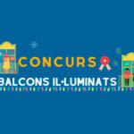El concurso de balcones iluminados de Palamós