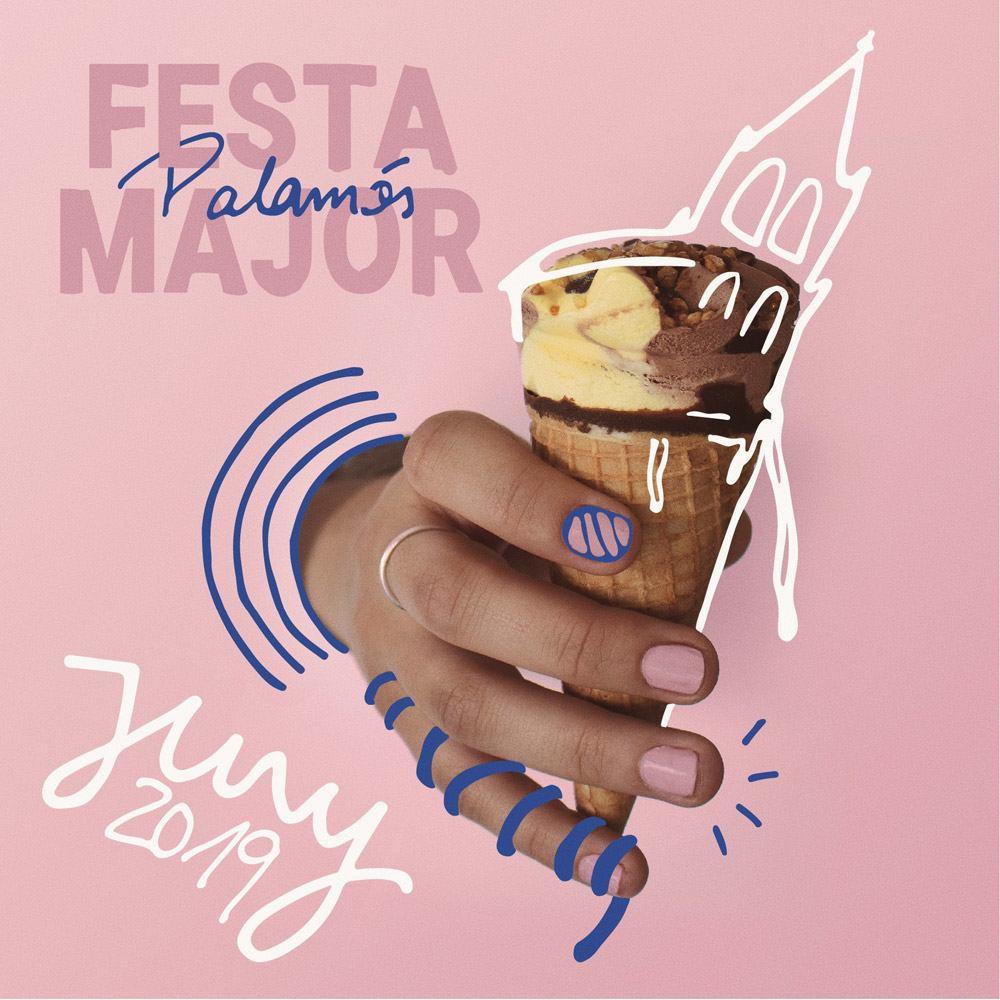 Cartel de la Fiesta Mayor de Palamós en la edición 2019