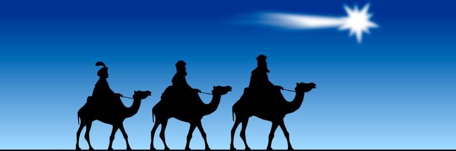 Els 3 reis mags d'orient a Palamós | Home Fosca